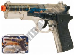 Colt Double Eagle Airsoft BB Hand Gun Black and Clear
